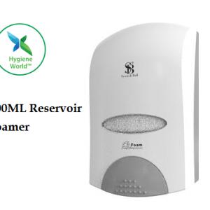 Foaming 900ML Reservoir Wall Dispenser