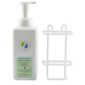 Foaming Pump Sanitizer with Tailor Made Wall Bracket