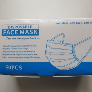 Disposable Face Mask  – PACK OF 50 !