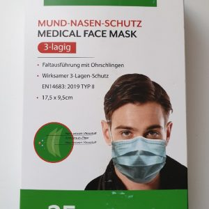 Disposable Face Mask  – PACK OF 25