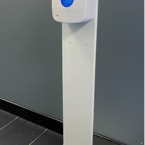 Floor Stand And Auto Foam Sanitiser Dispenser