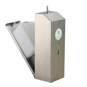 Stainless steel 900ml reservoir FOAMING dispenser